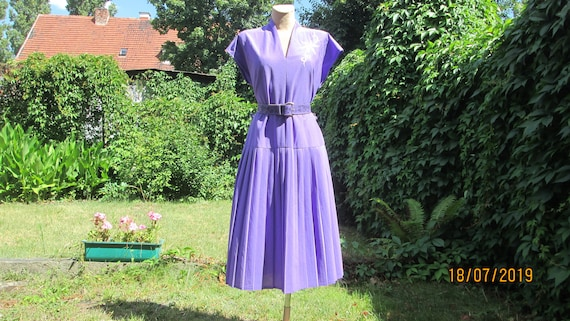 Pleated Dress / Pleated Dresses / Violet Pleated D