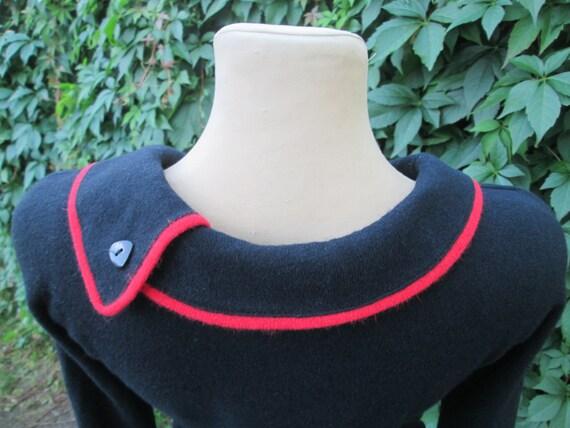 Angora Dress / Wool Dress / Woolen Dress / Pencil