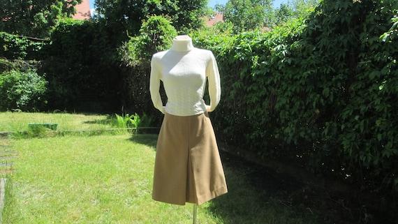 Woolen Skirt / Wool Skirt / Skirt Vintage / Size E