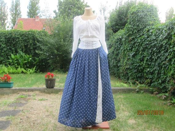 Linen Wrap Skirt / Long Linen Skirt / Linen Skirt