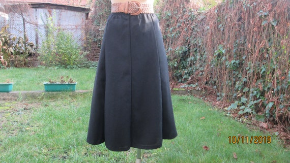 Wool Skirt / Woolen Skirt / A Line Wool skirt / Sk
