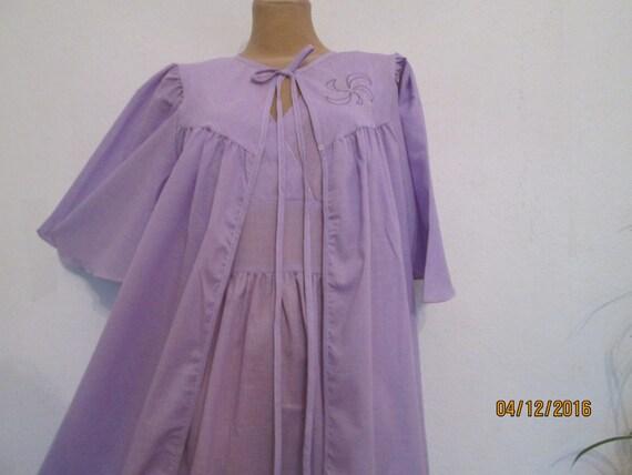 Two Piece Peignoir / Nightgown & Robe / 2 PC Peign