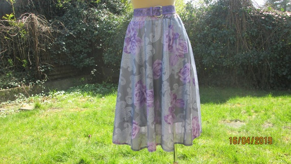 Circle Skirt / Skirt Vintage / Circle Skirts / Gra