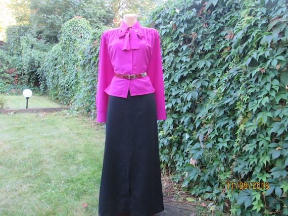 Long Wool Skirt / Woolen Skirt Maxi / Pencil Skirt