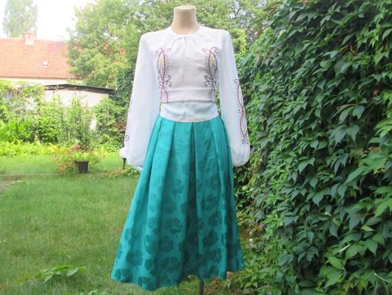Full Skirt / Green  Full Skirt / Emerald Full Skir