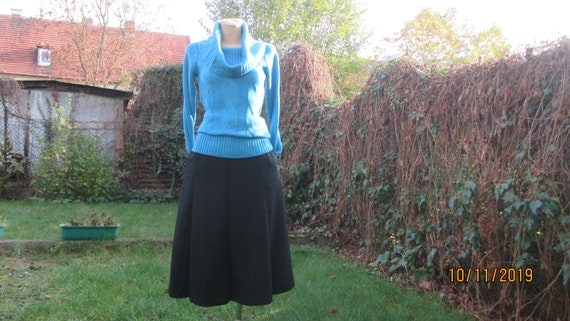Wool Skirt Pockets / Woolen Skirt / A Line Wool sk