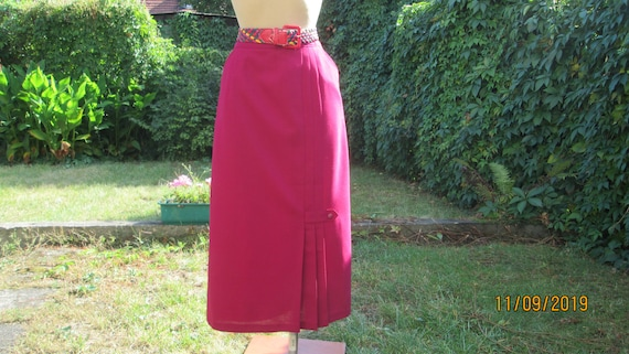 Pencil Skirt Pockets /Long  Pencil Skirt / Skirt M