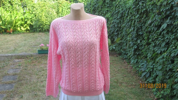 Wool sweater / Sweater Vintage / Knitted Sweater /