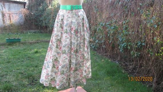 Linen / Cotton Skirt Pockets / Linen Skirt Pockets