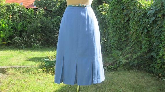 Woolen Skirt / Pencil Wool Skirt / Skirt Vintage /