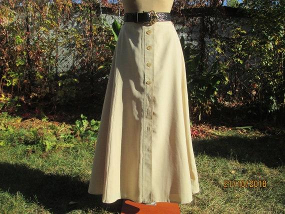 Long Wool Skirt / Woolen Skirt / Long Skirt / Skir
