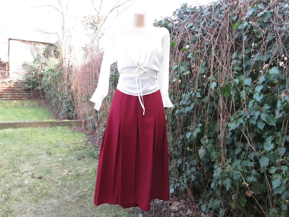 Pleated Skirt / Skirt Vintage / Pleated Skirts / L