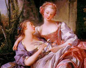 Mariage lesbienne et amour Note carte carte de voeux