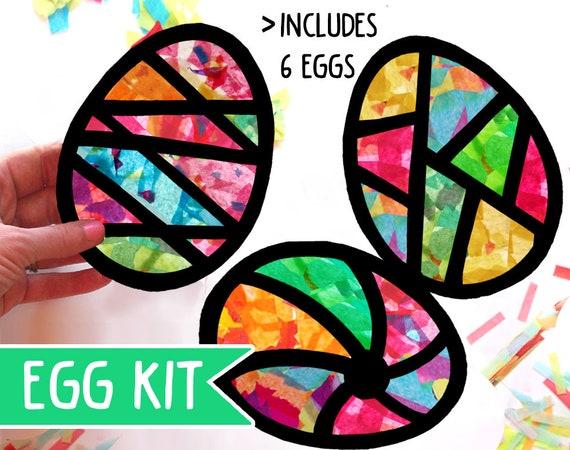 Crear o hacer su propio kit de cadenas de papel de Pascua-Children /'s Crafts 2 Diseños