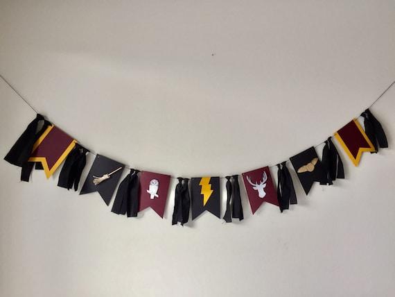 Harry Potter banner Harry Potter wall decor hogwarts banner Harry Potter birthday banner