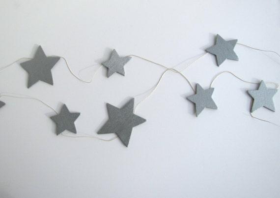Star garland  nursery decor twinkle star garland kid bedroom star decoration