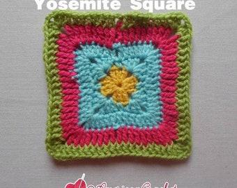 Eye of Yosemite Square Crochet Pattern