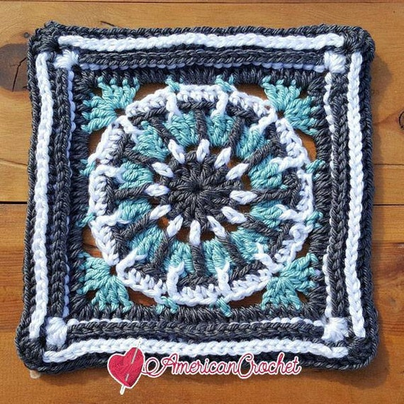 Sarah Circle In A Square Crochet Pattern Etsy