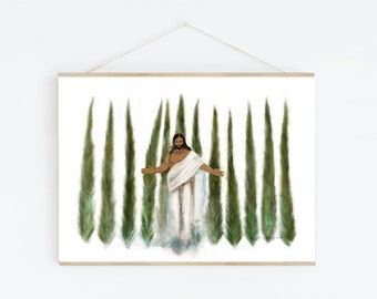 Storms Will Come Stay Sweet Greeting Card by Missy VanWagoner Watermelon Art