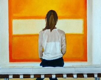 Mirando un Rothko