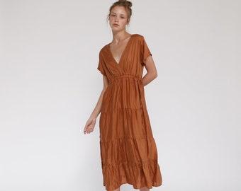 651bfa8df Tile Maxi Summer dress