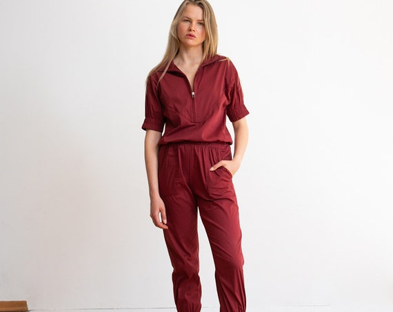 Weekday High Waist Boiler Suit .