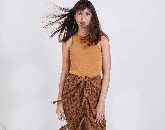 Organic Cotton Pareo Skirt
