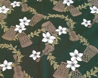 110cm wide cotton material Free Shipping DTP fabric Tropical Plants printed Cotton Fabric by the yard Crafting Floral pattern Sewing