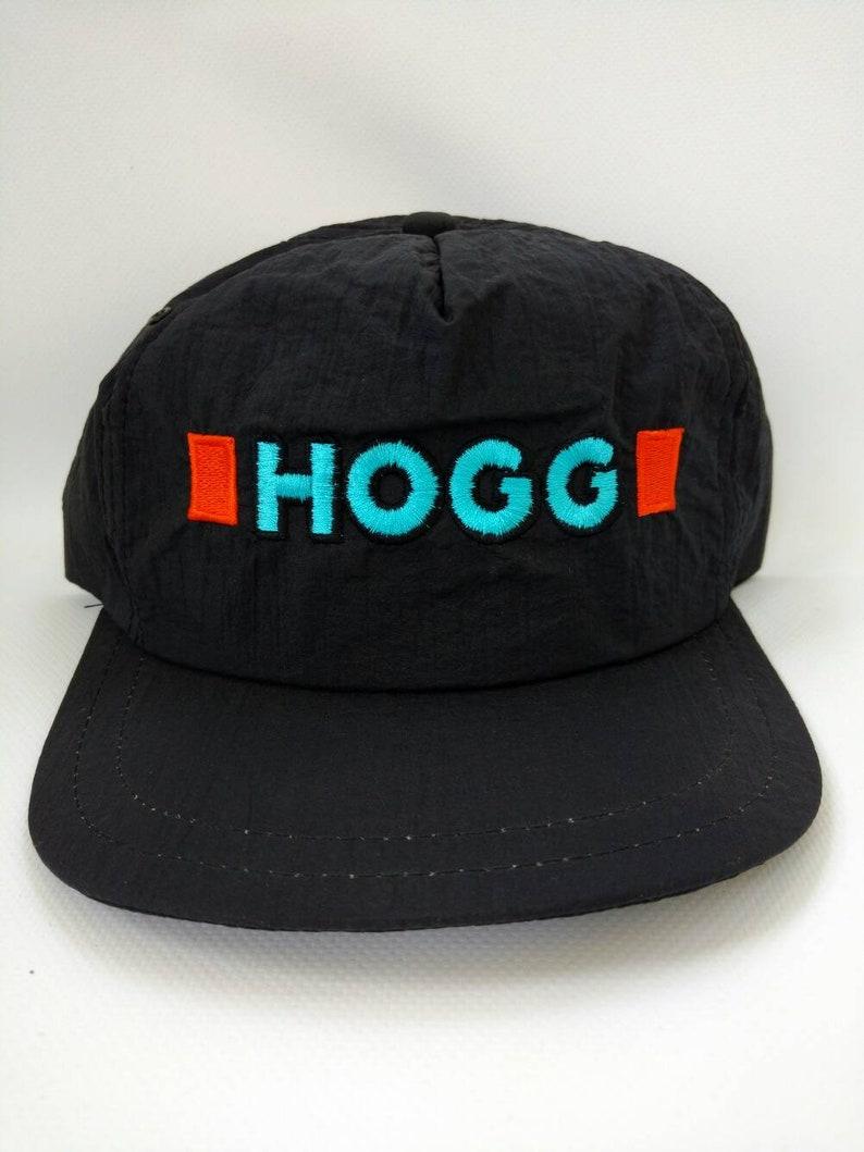 f925af64da0fd Hogg Mechanical Trucker Hat Snapback Cap Black Vintage Ontario
