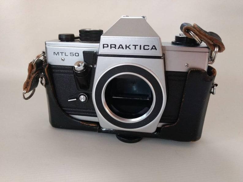 Vintage camera praktica mtl 50 retro photography untested slr etsy