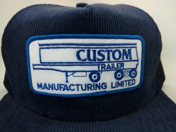 Custom Trailer Manufacturing Limited Trucker Hat Corduroy  c585e2715d1a