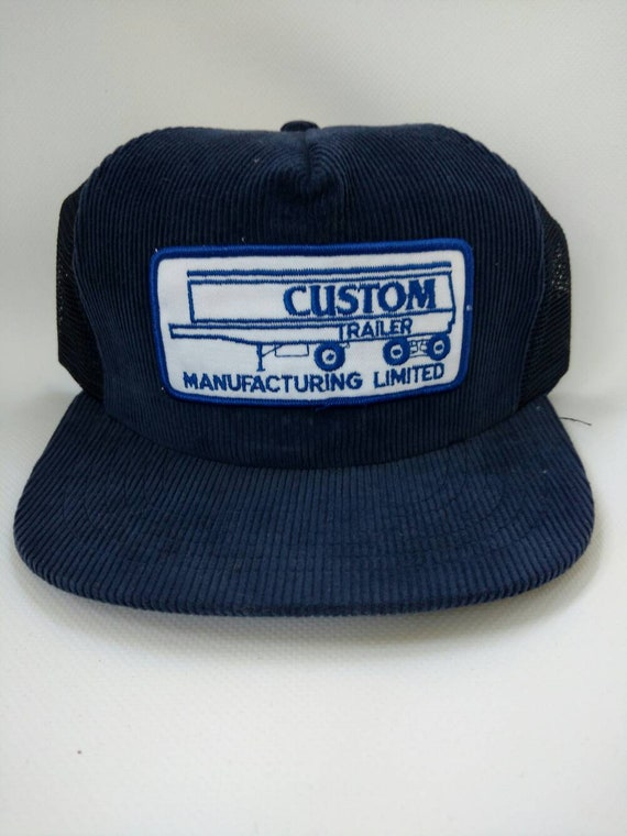 Custom Trailer Manufacturing Limited Corduroy Trucker Hat  8ed4e4988d97