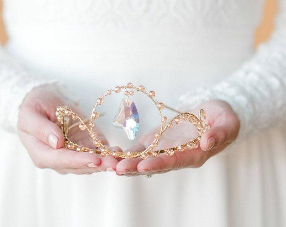 Wedding Crown, Bridal Crown, Crystal Crown, Wedding Tiara, Bridal Tiara, Wedding Headpiece, Wedding Headband, Festival Crown, Queen SERENITY