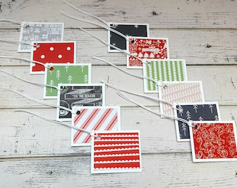 folded gift tags etsy