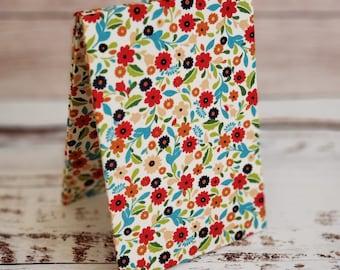 Premade Cross Stitch Finishing Piece, Fabric Easel, Flatfold, Cross Stitch Finishing, Finishing Service, Multi Floral