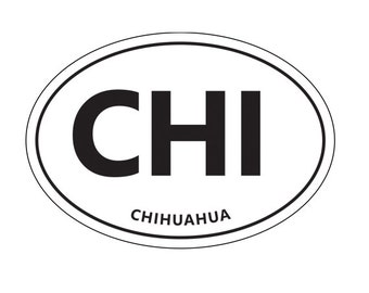 CHI sticker.