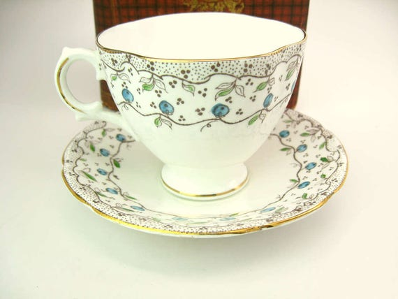 Vintage Royal Stuart Bone China Tea Cup Made in England