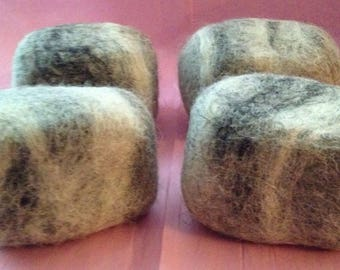 Goatmilk  Felted Soap