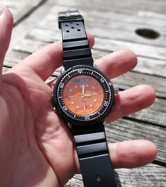 Vintage Seiko H558 500A The Orange Arnie November