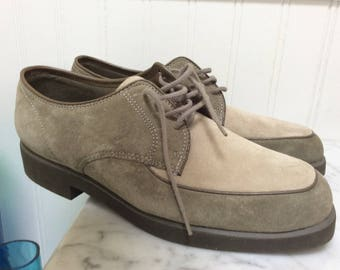 fb19fba3cd2 Hush Puppies Two toned Suede Size 71 2