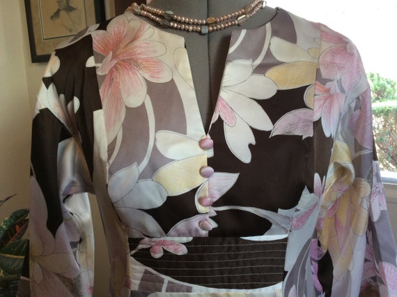 Vintage Kimono 1970s by Tori Richards for Liberty