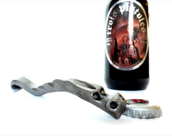 DRAGON'S CLAW Bottle Opener -  Hand Forged and Signed by Blacksmith Naz - Groomsmen Gifts -  for Him -  Groomsmen - Men - Groom - Best Man