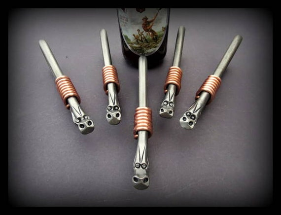 5 DRAGON GROOMSMEN GIFTS - Bottle Openers - Personalization Option available Signed by Blacksmith Naz  Gifts for Groomsmen Ushers Gift  Men