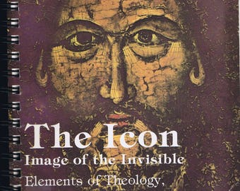 The Icon Rare Book 1988 History Antique Religious Christian Art Symbolism Archaeology