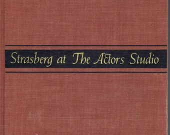 Vintage Sixties Strasberg at The Actors Studio Book Viking Press NY 1965 History of Am Theater Famous Director Acting School