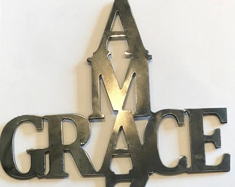 Metal Cutout Metal Wall Decor You and Me Home Decor Living Room Decor Sign Wall Hangings Metal Signs Personalized Signs customized Farmhouse