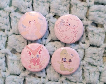 Lengendary Pokemon pins {1.25in buttons}