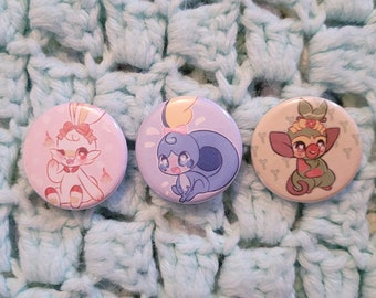Choose your starter! Gen 8 {1.25in buttons}