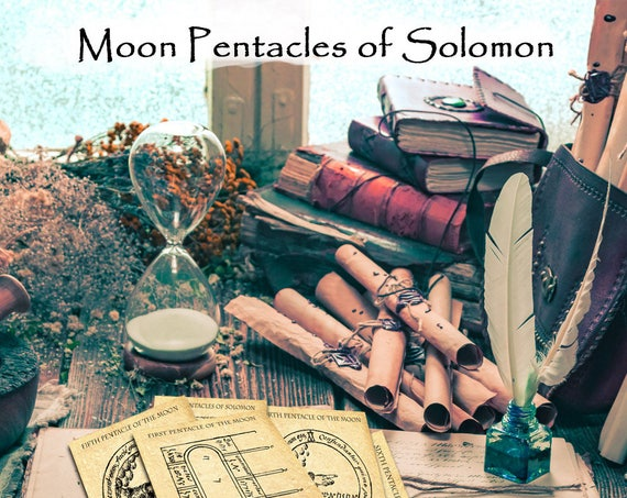 The Moon Pentacles of Solomon