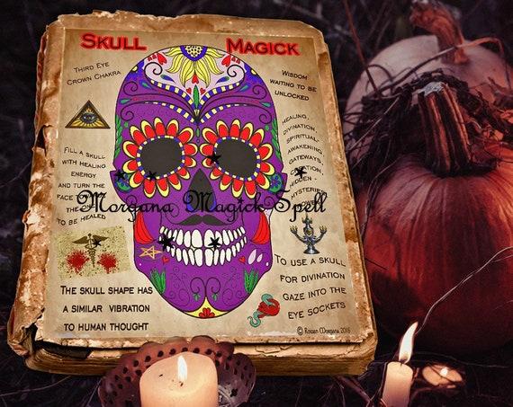 Samhain Scull Magick